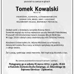 Pożegnanie Tomka Kowalskiego