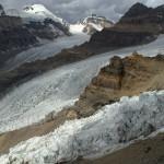 na przełęczy, lodowiec Nishgar