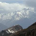 na przełęczy (widok na Hindukusz)