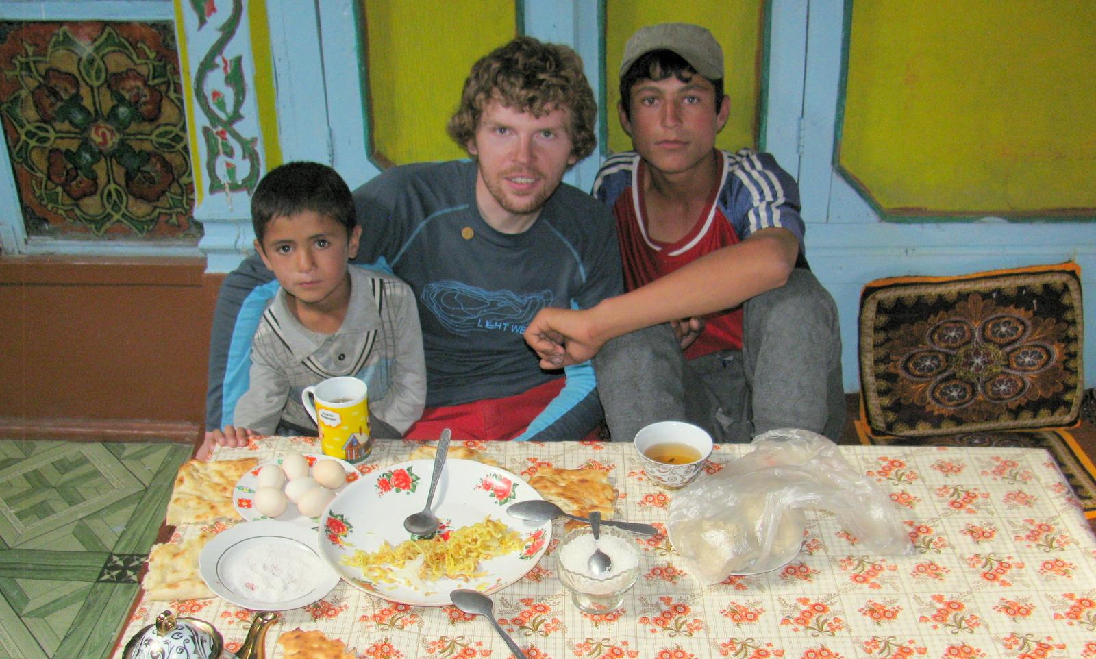 z wizytą u Pamirców (w wiosce Nishgar)