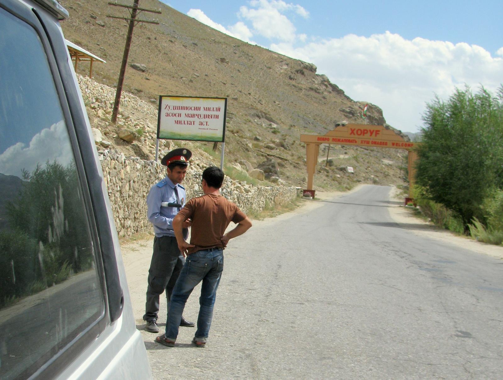 w drodze powrotnej do Duszanbe