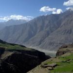 podejťcie do BC (widok na Hindukusz)