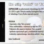 Co się robi w Tatrach – zaproszenie