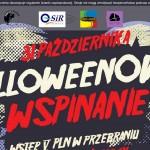 Zombie na wysokościach, czyli towarzyskie wspinanie Halloween'owe na Nowowiejskiej