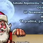 Mikołaj w Kominie, czyli towarzysko-edukacyjne wspinanie na Nowowiejskiej