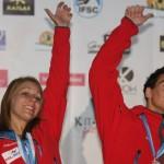 Ola Rudzińska i Marcin Dzieński ze srebrnymi medalami w Chamonix