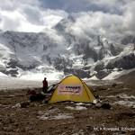 ABC na lodowcu 3900 m