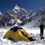 Oboz na lodowcu
