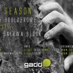 Zawody boulderowe Open Season 2014