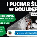 I Puchar Śląska w Boulderingu (Silesia Bouldering Cup) – drugie eliminacje w Rudzie Śląskiej 13.12.2014