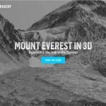Wirtualny spacer na Mount Everest