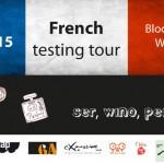 French Testing tour – ser, wino, perfumy?Niezupełnie