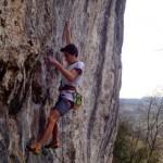 Młodzież w natarciu, Matteo Menardi (16 lat) na 9a