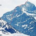 Wspinanie w Tatrach – film z przejścia Północnej Ściany Ramienia Krywania