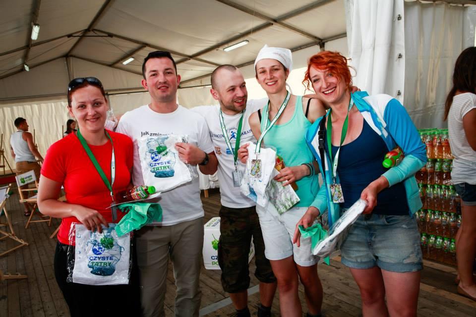 Wolontariusze 1_rejestracja 2_Akcja Czyste Tatry 2015