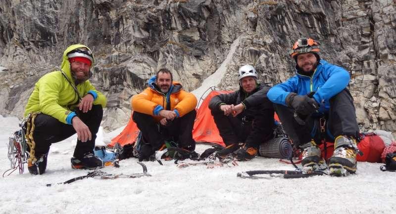 3. Zespol po zejsciu na lodowiec