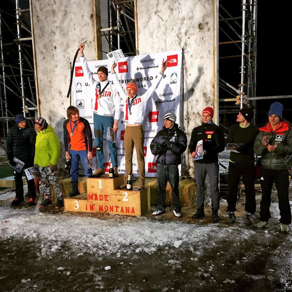 Bozeman podium (fot. Nadiezdza Launits)