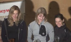 Od lewej: Linda Synakova, Olga Kosek, Maja Soltesova