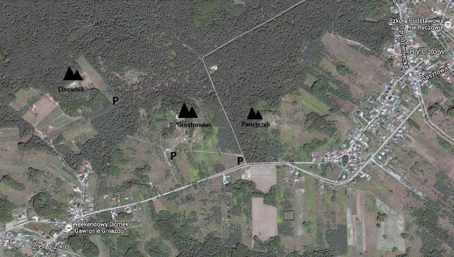 cisownik mapa