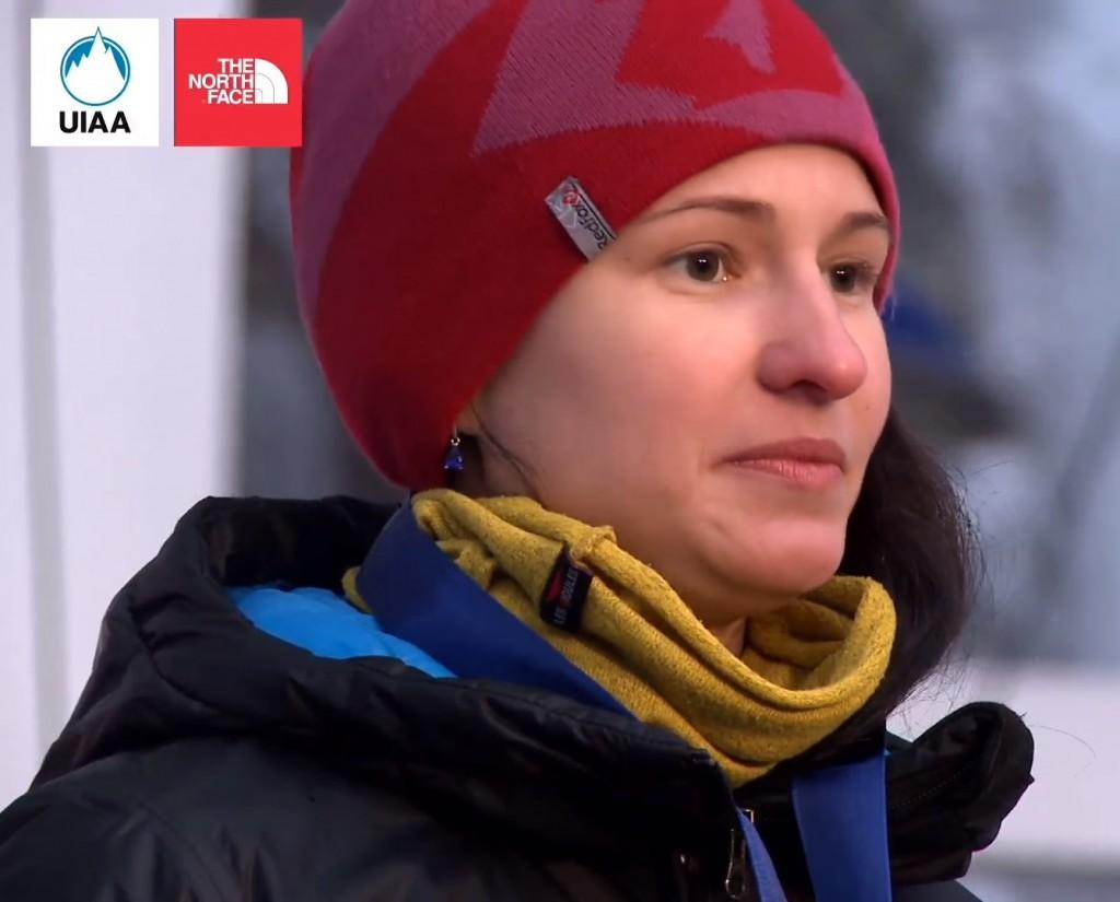 Maria Tolokonina - Ice Queen 2016 (fot UIAA)