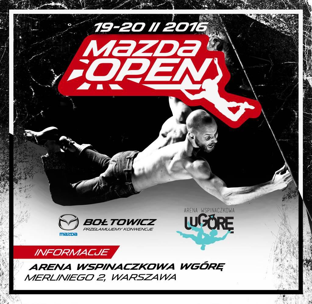 Plakat Mazda Open do portali
