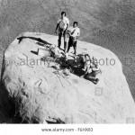 Eastwood z Indianami Navaho na Totem Pole