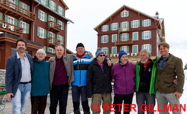 Jochen Hemmleb, Leni Gillman, Peter Gillman, Roland Votteler, Rolf Rosenzopf, Gunter Schnaidt, Sigi Hupfauer, John Harlin III (2)