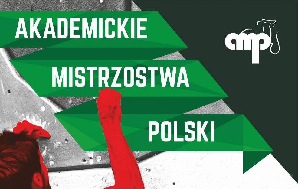 Finał Akademickich Mistrzostw Polski w konkurencji na trudność – na żywo