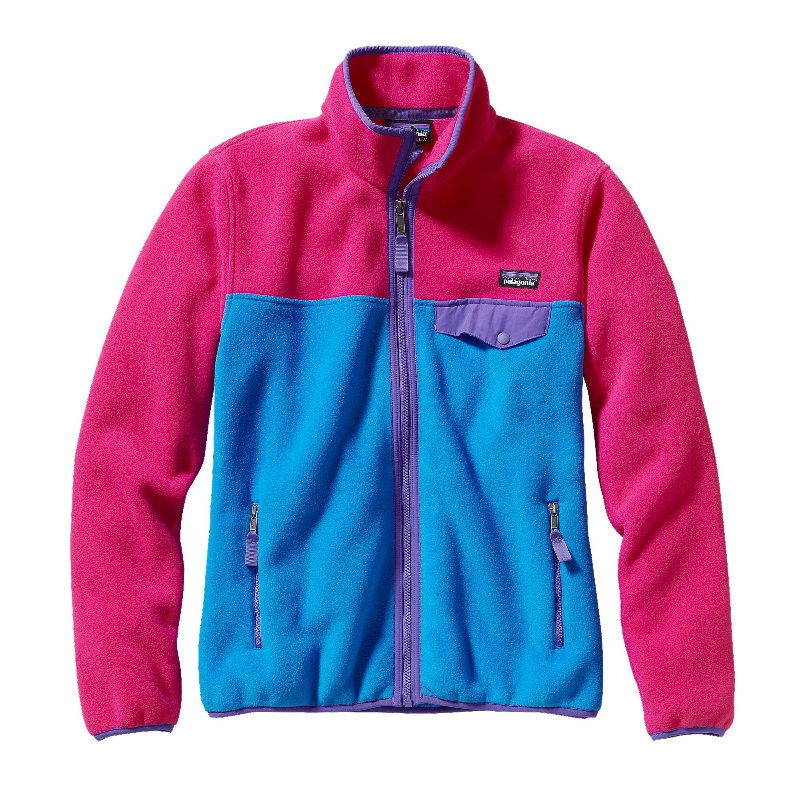 bluza polarowa PATAGONIA W's Full - Zip Snap-TR Fleece Jacket, kolor Andes Blue