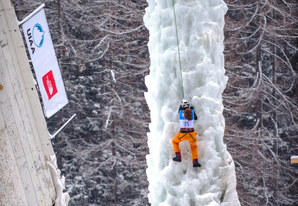UIAA Ice Climbing World Cup (fpt. UIAA)