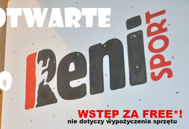 Reni Sport wraca na wspinaczkową mapę Krakowa