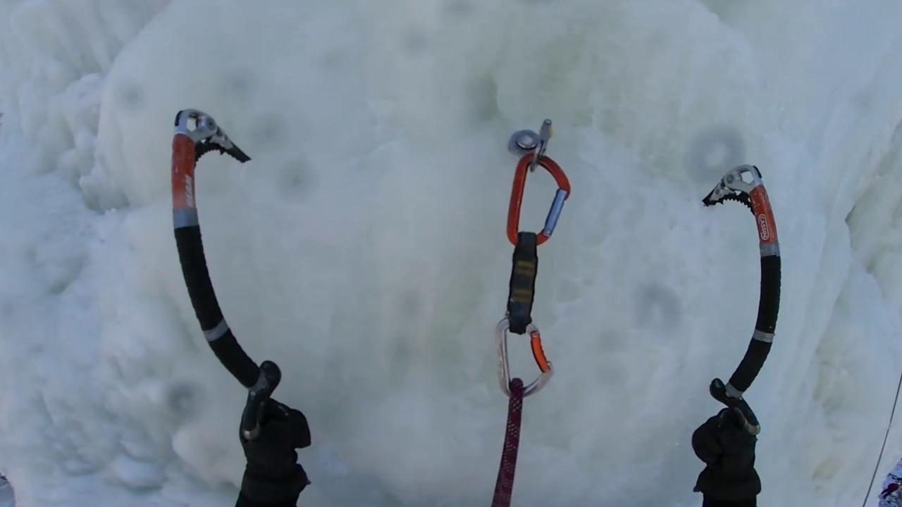 Lodospad na Kadzielni na filmie 360 stopni