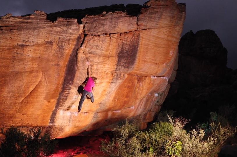 Klasyki Rocklands – bouldering