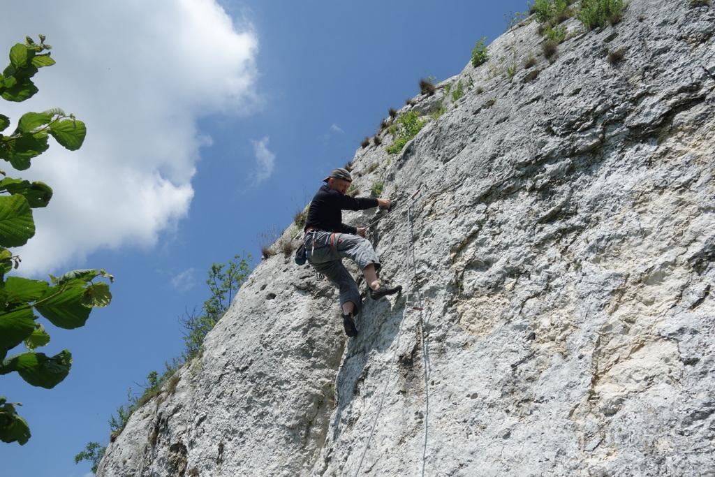 Rafał Nowak na drodze Kaw się Bałem VI.1, Mały Mur, Wzgórze 502